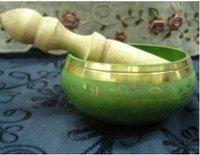Beautiful tibet copper buddhism singing bowl free shipping