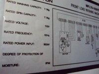 Стиральная машина Marine's foreign trade automatic drum washing machine 110V60Hz 7.0Kg crew use/seaman use/Marine use/front load washing machine
