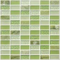 Керамическая мозаика Bathroom Golden Glass Mosaic Tiles
