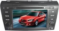 "7"" old mazda 3 2004-2009 2DIN car dvd player,GPS,3G,navitel map,Bluetooth,phonebook,TV,V-6CD,DVR,radio,smart UI,canbus,Russian"