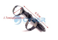 Кольцо Shippping New Cool Punk Rhinestone Skull Bone Joint Adjustable Knuckle Ring