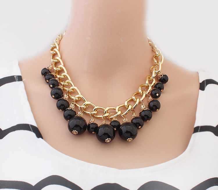 Ожерелье на цепочке своими руками 80