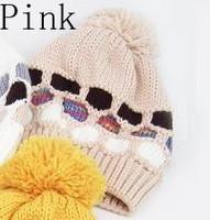 Женская шапка multi skullies #183