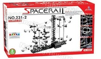 Игрушечная техника и Автомобили New Space Rail spacerail Space Warp Level 2 3500 Marble Roller Coast Set educational toys