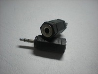 Converter 3.5mm Stereo Jack to 2.5mm Stereo Plug 100 pcs per lot