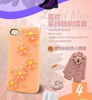 Чехол для для мобильных телефонов hot selling products flower Ballet girl Elegant case for Iphone 5 China Supplier manufactire apple iphone 5 accessories