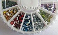 Блестки для ногтей 12 Diamond 3D