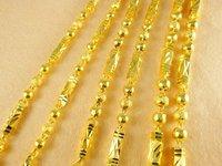 Колье-цепь Super deal fashion Jewelry vacuum plating 24K gold necklace 50cmx9mm Super price! ZKN128