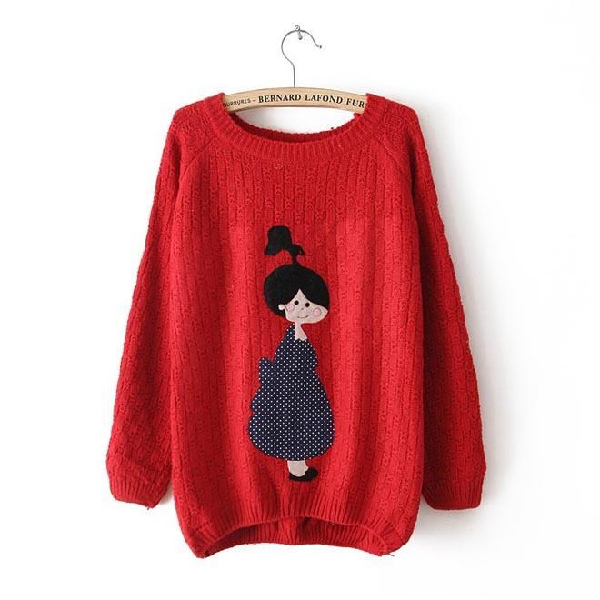Пуловер с совой доставка