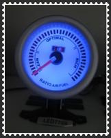 Панельный прибор для мотоциклов 2 inch/52 mm meter, blue LED light series gauges clear lens white face air/fuel ratio gauge LED7709