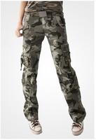 женщины военный камуфляж армии боевой камуфляж брюки брюки размер s-xxl