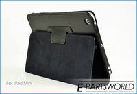 FedEx доставку 100sets/много Фолио Пу кожа стоять рукав кожи чехол + снимите протектор экрана + стилус для apple ipad mini