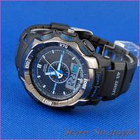 Многофункциональный водонепроницаемый моды 5 шт/много новых ohsen Мужские часы спорта ad1308-3