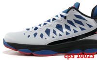 Мужская обувь для баскетбола EMS Chris Paul CP3 VI Game Royal White Black Gym Red Mens Basketball Sneaker Shoes