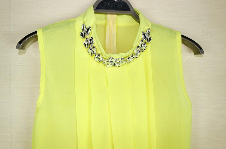 Желтые Блузки 2013 Фото