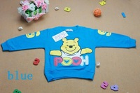 Футболка для девочки Christmas :baby clothing t-shirts for boys pooh t-shirt boys clothes
