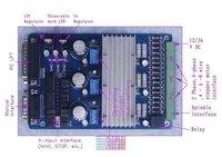 Шагового двигателя Очень ЧПУ 3aixs Drive Kit