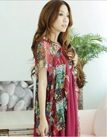 free shipping Sundress chiffon cardigan pregnant women T36 chiffon skirt sundress