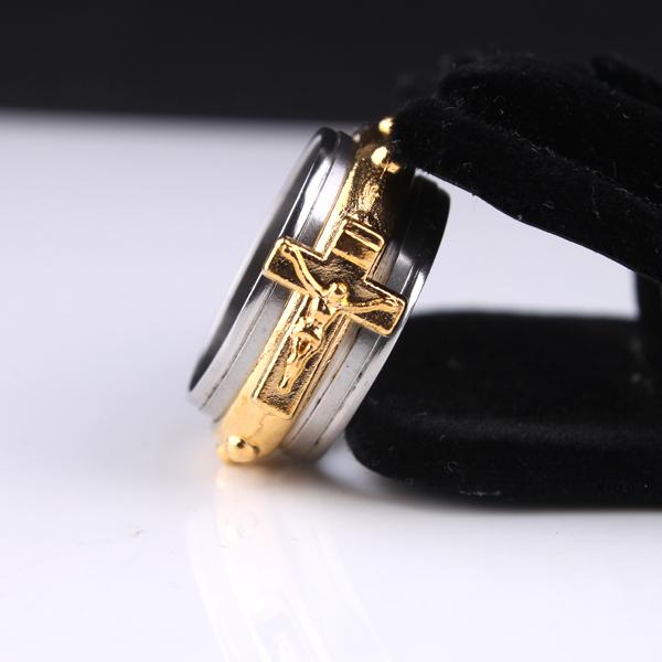 十字架圣经戒指