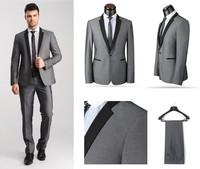 Свадебный мужской костюм custom made man dress groom wear Best Notch Lapel Bridegroom Groomsmen Men for Wedding Suit
