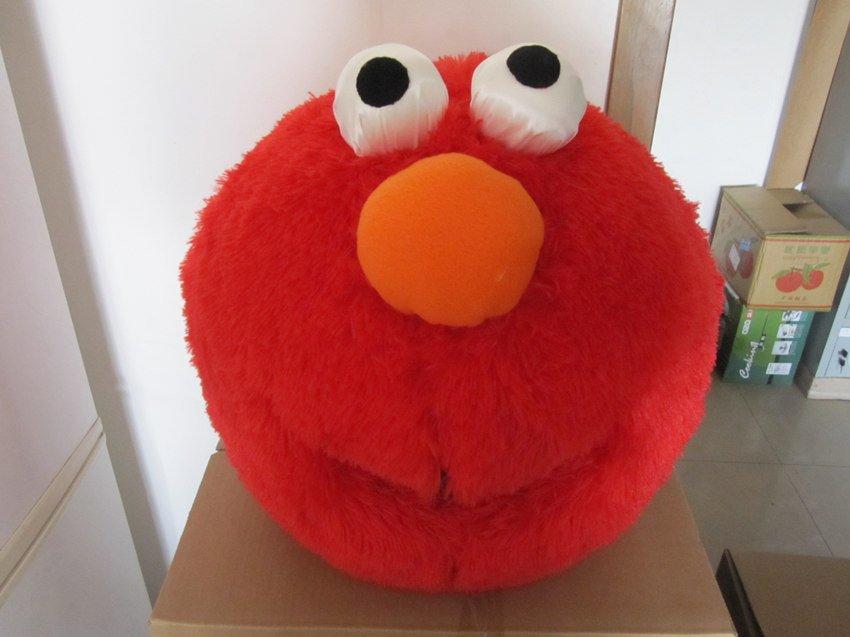 Elmo Cartoon Head Red Elmo Halloween Cartoon
