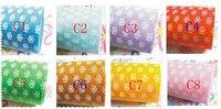 Ткань 92CM*92CM/piece 1MM printed polyester felt fabirc, dot, heart, flower pattern, 4pcs/lot B2013130
