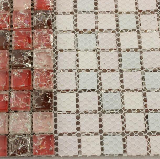 Wandtegels Keuken Karwei : Wandtegels Keuken Rood : rood glas moza?ek tegel backsplash keuken