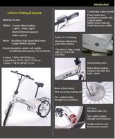 7 скорость, литий экологических, складных электрические помочь велосипед, 36В 200Вт, 18' портативный электрический велосипед