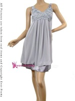 Коктейльное платье Fashion Fancy Secy Flower Summer Designer Celebrity Casual Dresses 08801GY