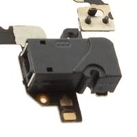 Гибкий кабель для мобильных телефонов 1pcs Headphone Audio Jack Power Volume Switch Flex Cable For iPhone 4 4G