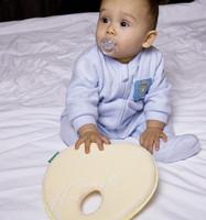 прекрасный новорожденных малышей, безопасным анти-ролл ребенок младенческой подушку, спать головой позиционер, предотвращая плоская голова, пены памяти