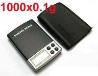 Ювелирное изделие 0.1g-1000g / 1000g/0.1 Mini Electronic digital Balance Pocket Jewelry Diamond Gold Weight Scale