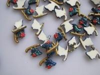 Стразы для ногтей RC-175-5 200pcs/bag Cute Decoration Resin X-mas Deco Resin Decoration Nail Art Decorations