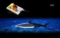Кухонный нож Fruit knife, stainless steel Knife with fashion unique shark shape, creative gift