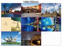 Поздравительная открытка Zhont souvenir , 148 * 105 Eiffel Tower