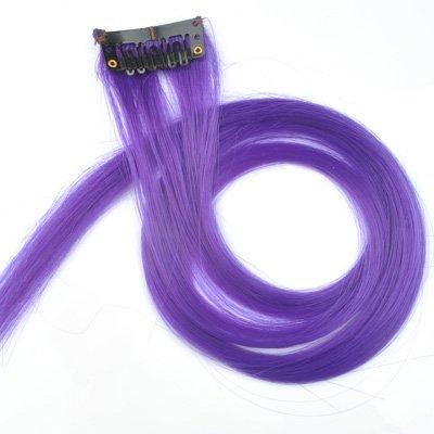 купить цветные волосы на заколках клипсах зажимах