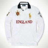 Мужская футболка New style! polo men's T-shirt.polo long-sleeved shirt.100% cotton