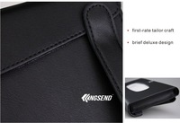 AUDI Sun Visor PU leather paper holder tissue box cover napkin clip car auto 00469