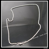 Цепочка 15x Rhodium Plated Twist-link Necklace Chains 130112