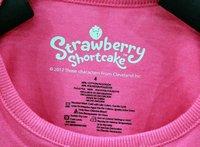 Комплект одежды для девочек NEW arrive good quality children girl Strawberry girl t shirt +pants cloth set children clothing girl's autumn wear
