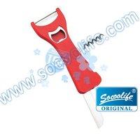 Овощерезка multi-product +1pcs/lot+5in 1 multifunction tool+apple peeler+mulknife+wine opener