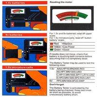 Тестер аккумуляторной батареи Universal 1.5v&9v Battery Tester Checker 5783