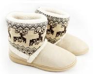 2012 winter fashion onta berber fleece yarn home shoes snow boots Free shipping