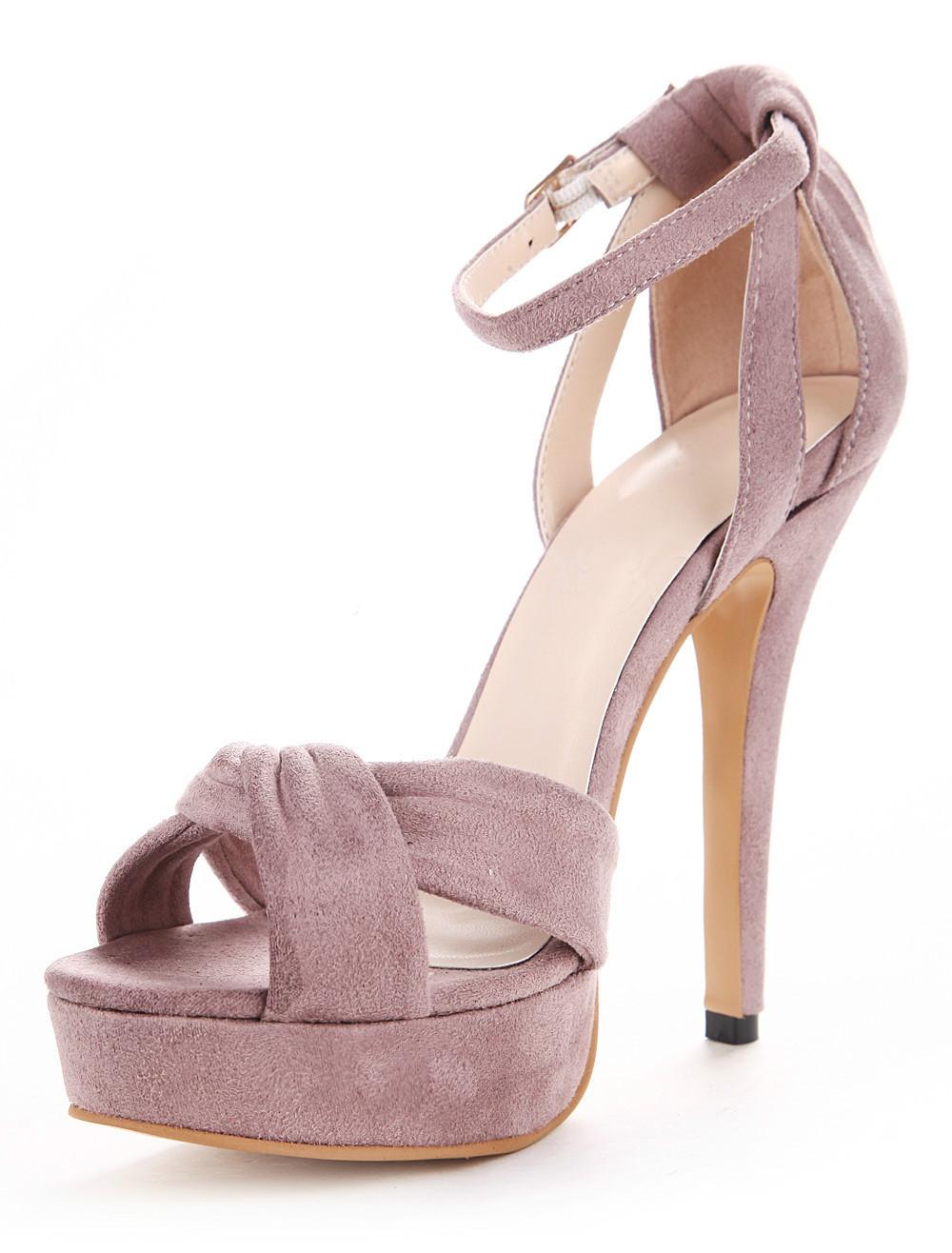 Pink And Purple Heels
