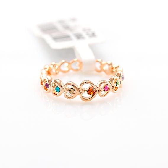 Золотые тонкие кольца женские