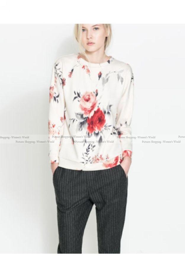 Купить Блузку Цветами