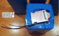 Батарея для электровелосипеда 36V20Ah LiFePO4 ,
