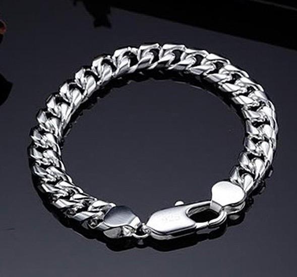 Поиск: nb25 новый 2013 горячая распродажа 925 для мужчин 925 серебряные браслеты серебро мужчины браслет