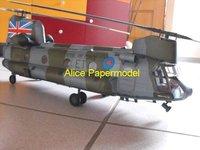 Игрушечная техника и Автомобили papermodel] 1 1:24 CH47