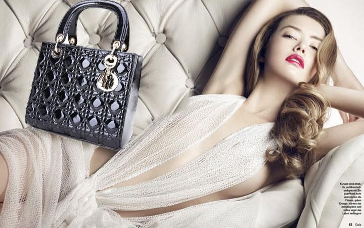 Новые сумочки Lady Dior от Марион Котияр